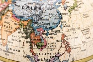 Vision voyage dans les territoires Est et Sud du continent de l'Asie